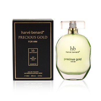 Harvé Benard Precious Gold for Him 3.4oz EDP